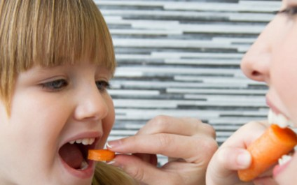 Teach your brain to like healthy foods!